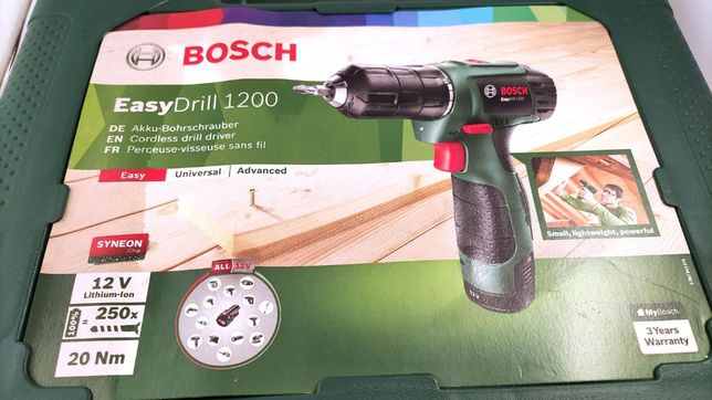 Wkrętarka Bosch Easydrill 1200