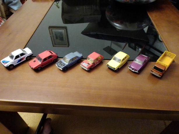 Majorette Bmw/Peugeot 205/Fiat Ritmo/Novacar Mercedes/Matchbox Renault