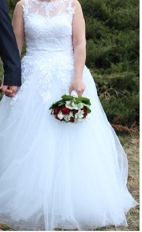 suknia ślubna roz. 38