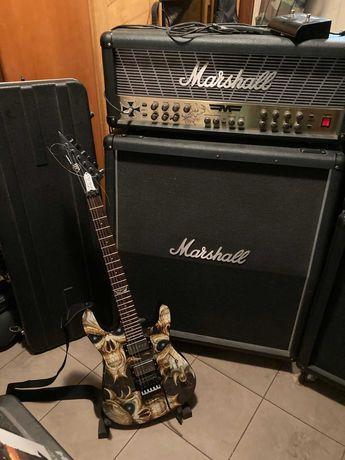 zestaw gitara ,wzmacniacz+kolumna