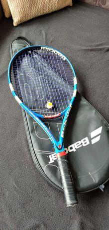 Rakieta tenisowa dla dziewczynki Babolat Pure Drive Jr25 + pokrowiec
