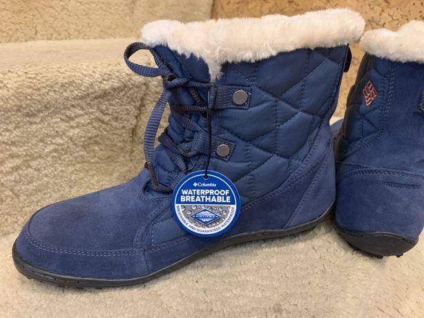 Продам новые женские оригинал ботинки Columbia Omni-grip р.40,5 см26,5