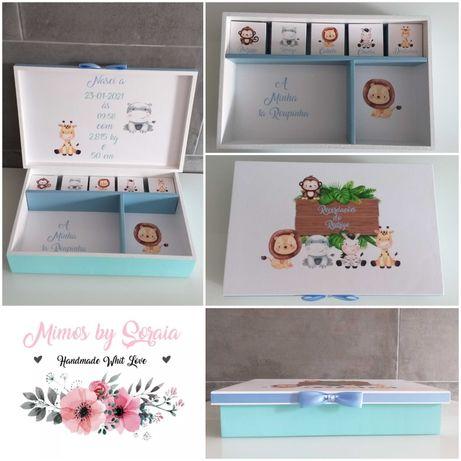 Caixa de Recordações/Maternidade (Grande) - Personalizável
