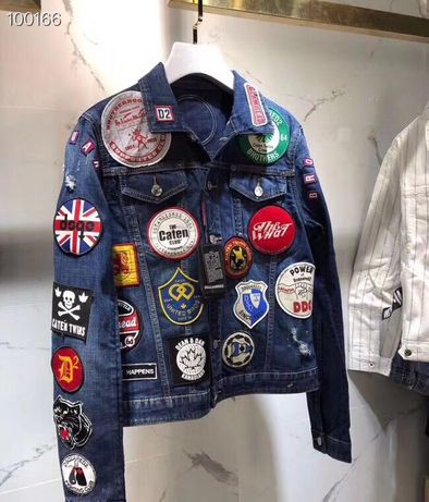 Dsquared2 denim jacket kurtka FALL WINTER SS20