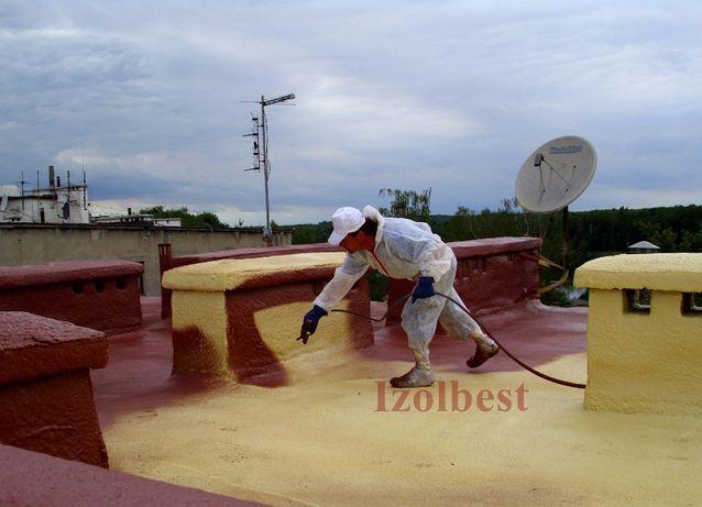 Farba na dach - Farba do pianki PUR - Farba chroniąca przed UV