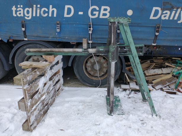 Podajnik rolkowy wałkowy podpora regulowany podpórka stojak śrubowy