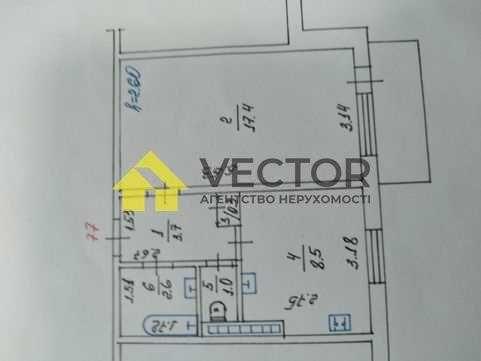 Продам квартиру 7/9 этаж. 35м2 кухня 9м2
