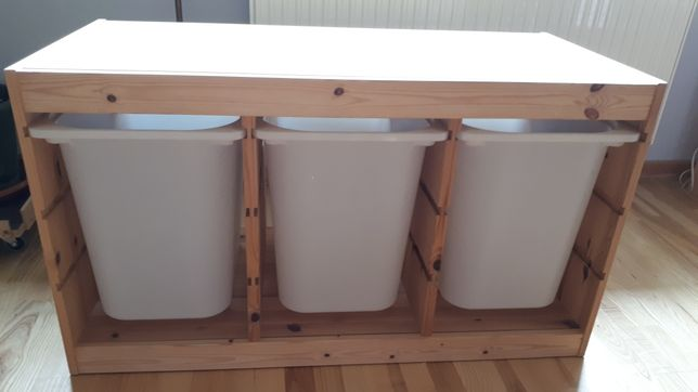 Szafka komoda dla dzieci trofast ikea 3 duże szuflady