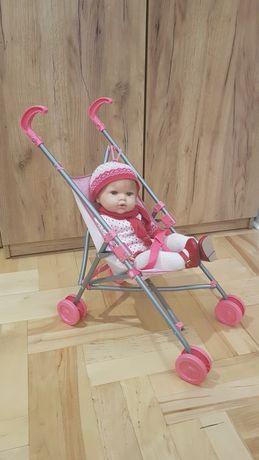 Wózek dla lalek spacerówka spacerowy