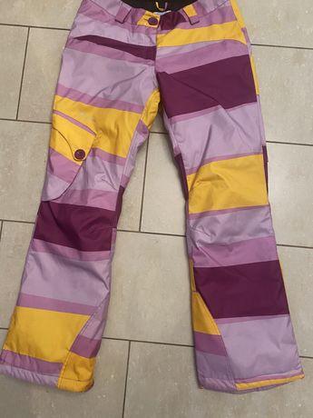 Stormberg damskie extra spodnie zimowe r. L super wzory jak nowe,narty