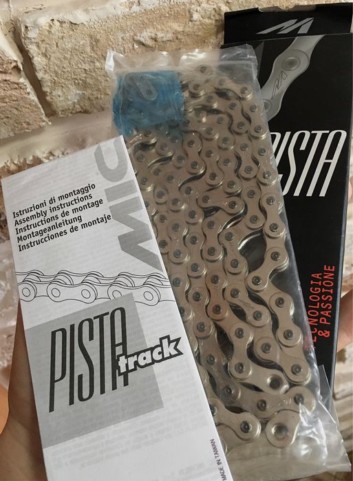 "ланцюг [Miche Pista 1/8"" Track Chain] fixed,track,singlespeed Луцк - изображение 1"