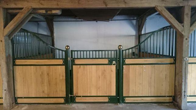 Boks dla konia, boksy dla koni, ściana przednia dla konia,