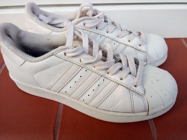 Adidas superstar trampki 36 2/3 białe
