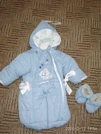 Продам дитячий комбінезон трансформер