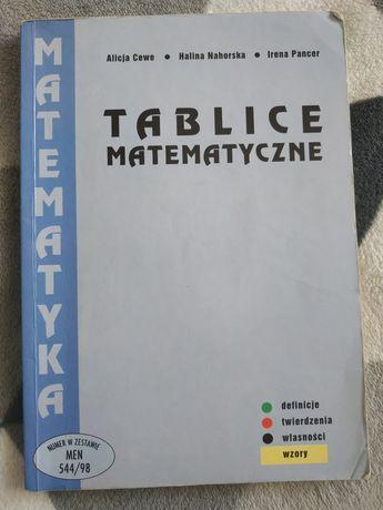 Tablice matematyczne