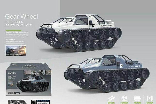 ВИДЕО!!! Супер проходимый ВЕЗДЕХОД ТАНК машинка на радиоуправлении