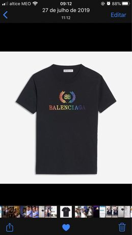 t-shirt balenciaga XL