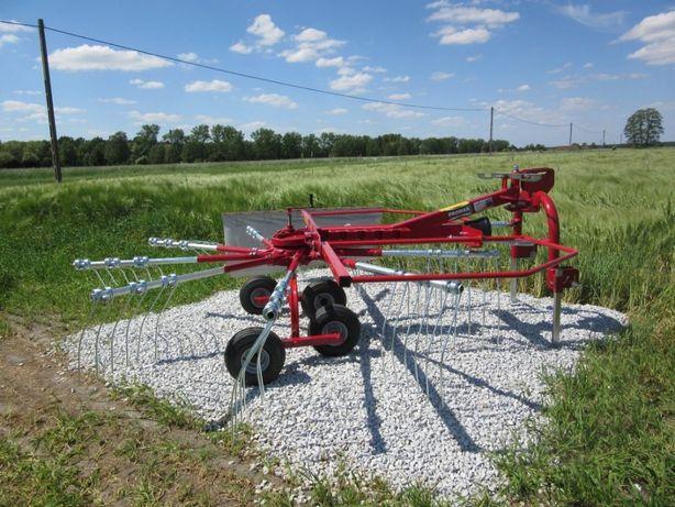 Zgrabiarka PROMAR 3.5m karuzelowa do siana przetrząsacz TRANSPORT