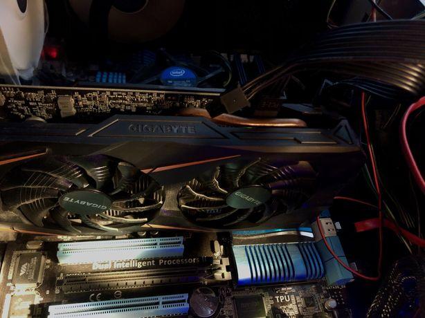 Компьютер, Gigabyte GTX 1060 6gb, видеокарта, системный блок
