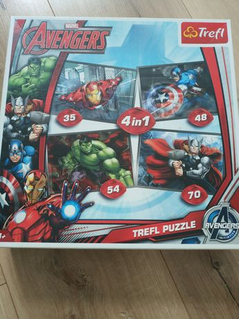 Puzzle Trefl 4w1