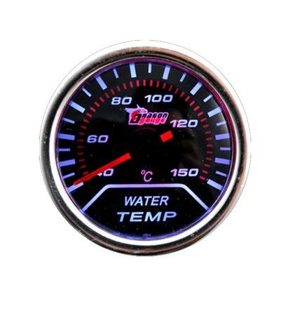 Manómetros pressão do turbo e temperatura água universais