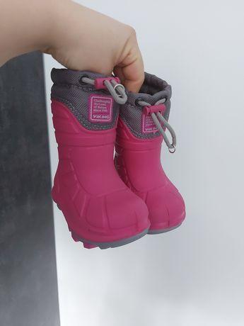 Buty zimowe Śniegowce 21 Viking Nowe