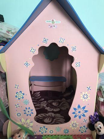 Дерев'яний будинок хатка будиночок дом домик для дітей