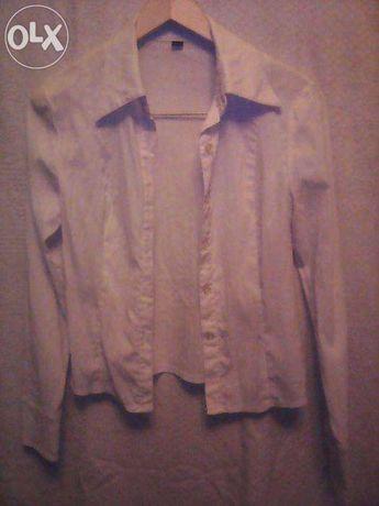 блузка белая школьная на девочку