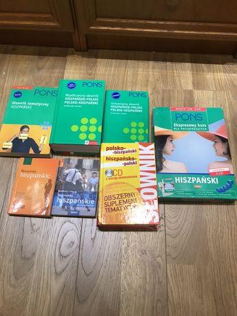 Pons zestaw książek do nauki hiszpańskiego