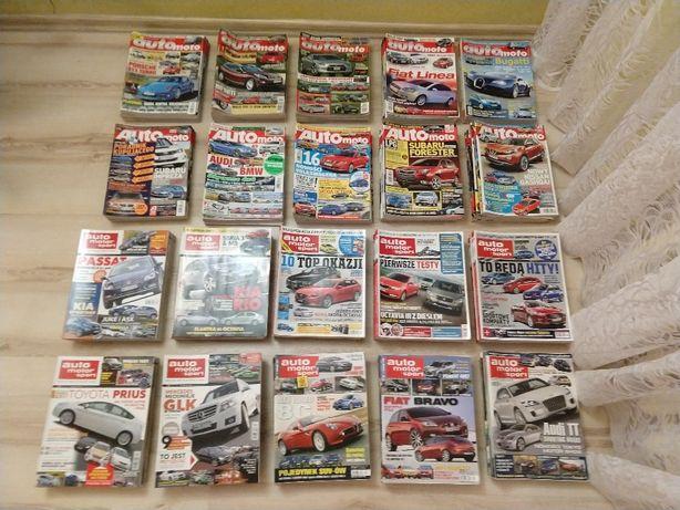 auto motor i sport oraz auto moto z lat 2005 do 2014 pełna kolekcja