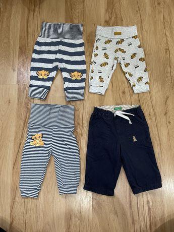 Spodnie niemowlęce rozmiar 56