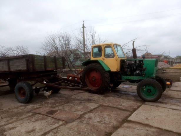 трактор юмз-6 и сак