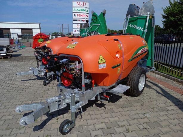 Opryskiwacz sadowniczy AGROLA OPTIMUM 1500l ARAG elektrozawory