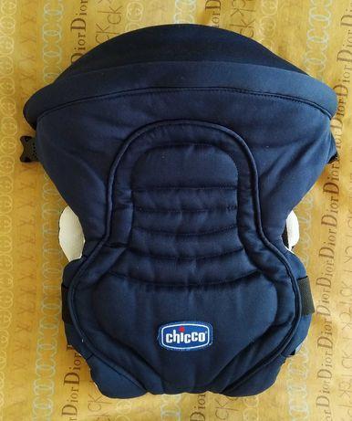Эрго рюкзак-кенгуру нагрудная сумка Chicco Soft & Dream