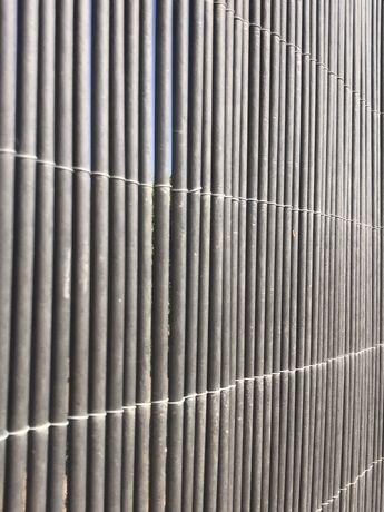 Vime sintético grafite - rolos de 3mts x 2mts de altura