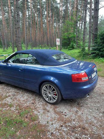 Audi A4 Cabrio  3.0 V6, S-Line, automat, LPG, Zamiana również motocykl