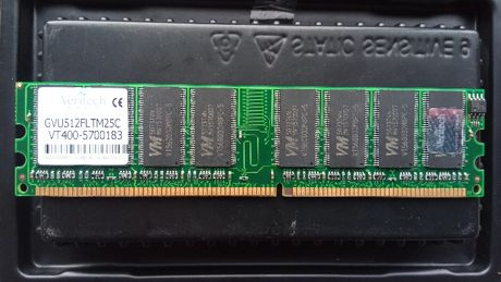 MEM RAM Veritech 512mb GVU512FLTM25C 184-pin