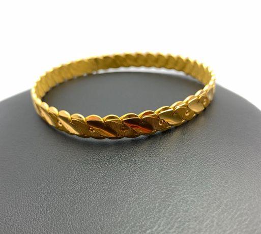 Złota NIEPOWTARZALNA bransoletka P.916 30,18g Lombard66