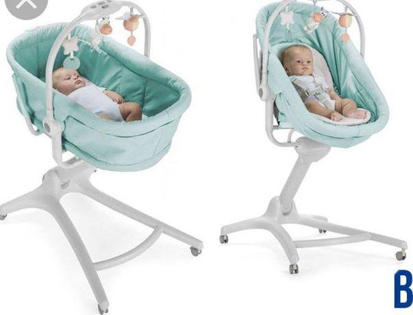 Кроватка-стульчик Chicco Baby Hug Aquarelle