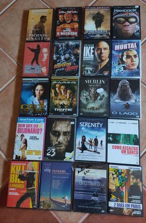 Diversos filmes em DVD