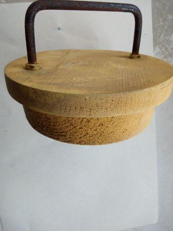 Заглушка внутренняя вентиляционная, дерево