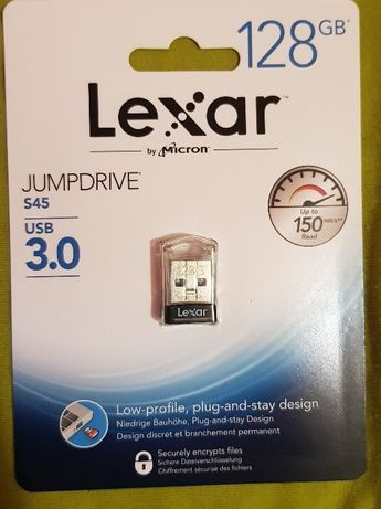 Lexar JumpDrive S45 128GB флэшка 1900р