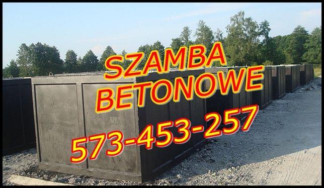 Zbiorniki betonowe na szambo 2m3 SZAMBA na wodę studzienka PRODUCENT