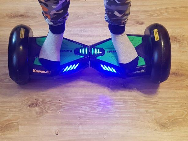 Deskorolka elektryczna Kawasaki KX-Pro 10.oA Hoverboard mocna pompowan