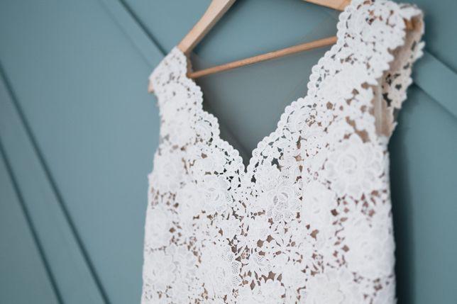 Suknia ślubna Bergamia Annais Bridal długi welon gratis