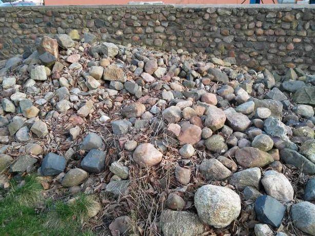 Kamienie polne ogrodowe głazy