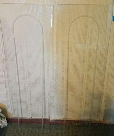 Полки и дверцы стеклянные