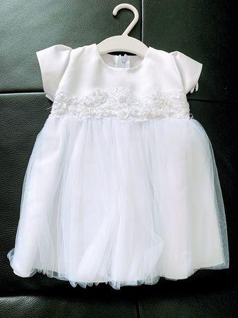 Sukienka do chrztu 68r