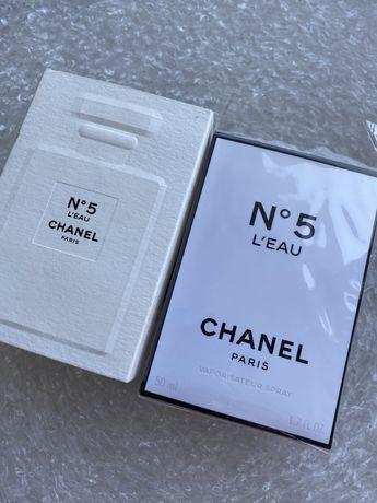 Оригинал туалетная вода Chanel N5 L'Eau edt eau de toilette 50мл
