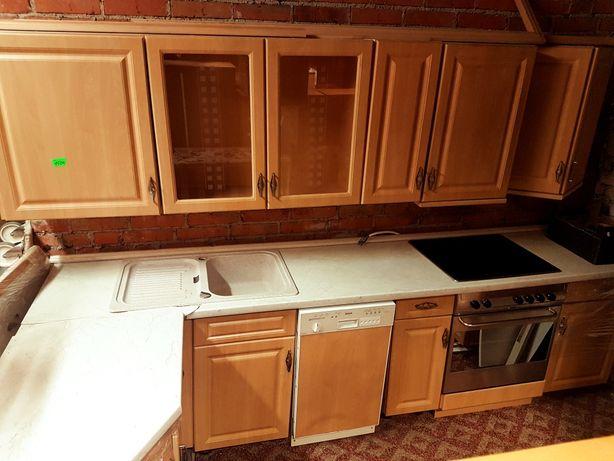 Zestaw mebli kuchennych ze sprzętem AGD